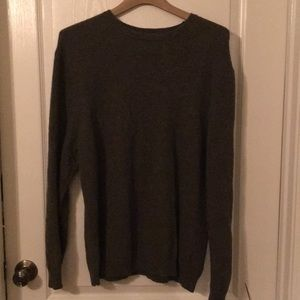 Eddie Bauer NWOT Men's Green Knit Sweater